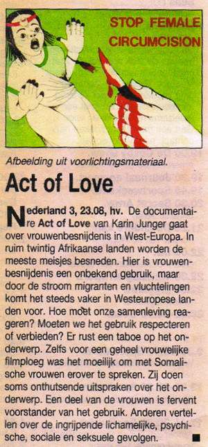 Act of love (NL)